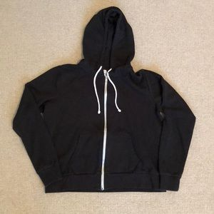 Black H&M Hoodie Sweatshirt